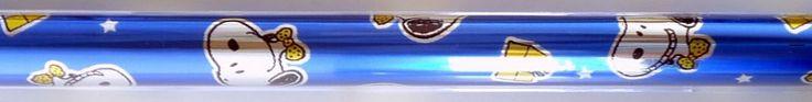 Snoopy Gift Wrap Roll - Blue Foil: Snoopn4pnuts.com