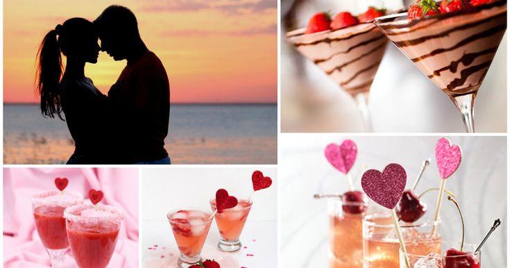 Cócteles afrodisíacos para los enamorados en San Valentín