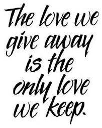 The Only Love - Penny Black Rubber Stamp