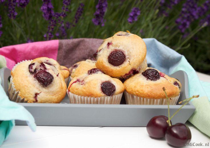 Kersenmuffins - MiCook