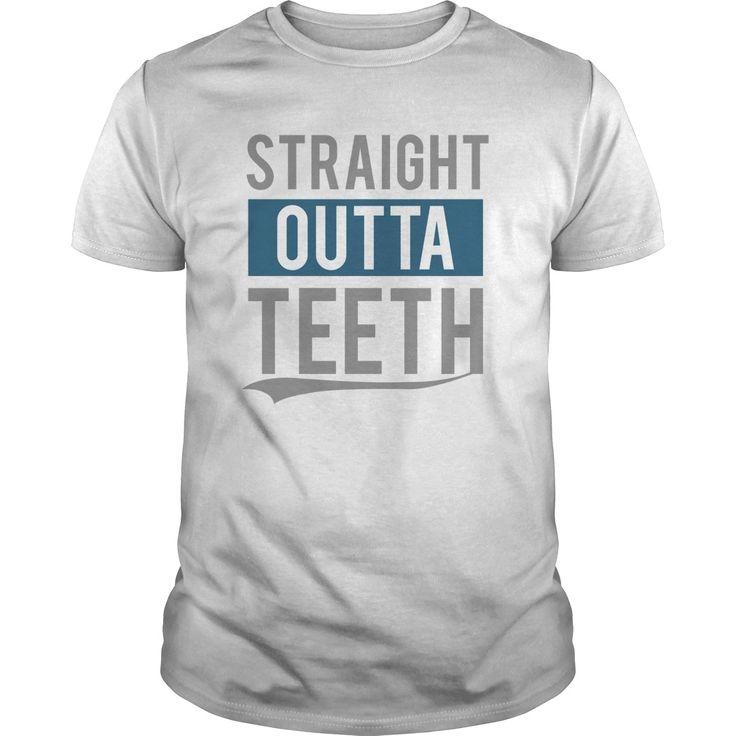 Straight Outta Teeth T Shirt Design Website ,cool T Shirts For Men ,custom  Shirt