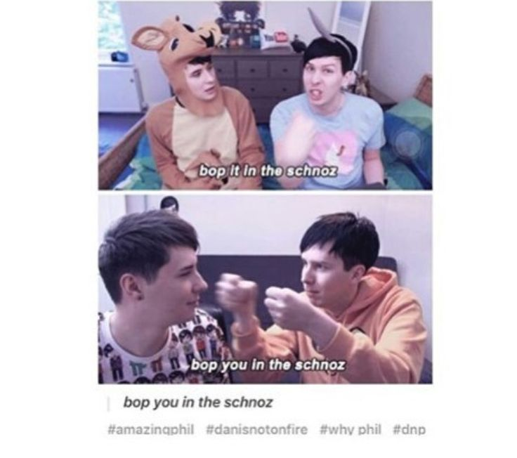 Phil being too adorable.