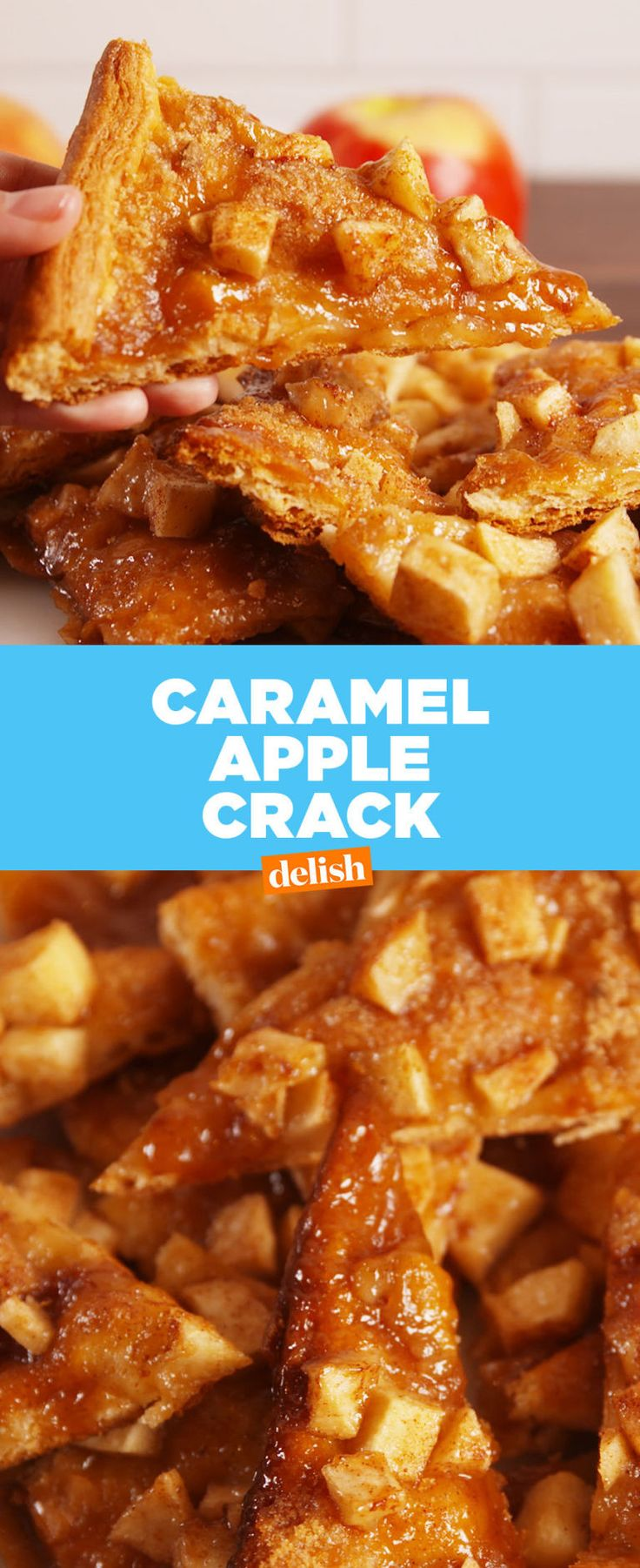 Caramel Apple Crack  - Delish.com