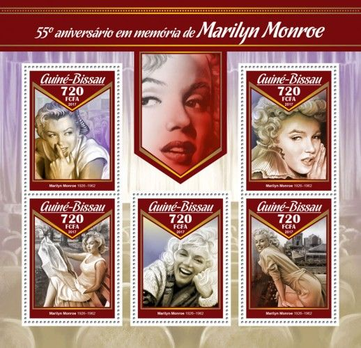 GB17008a 55th memorial anniversary of Marilyn Monroe (Marilyn Monroe (1926–1962))