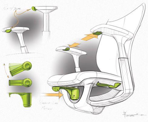 Industrial Design Workchair Tiger Studio