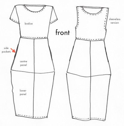 Eva Dress Pattern - Tessuti Online Fabric Store