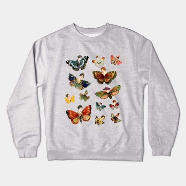 LADY BUTTERFLIES! Crewneck Sweatshirt