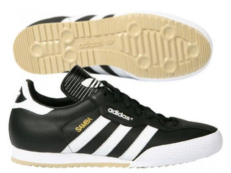 New Mens adidas Originals Black Samba Super Trainers UK 7-12 019099