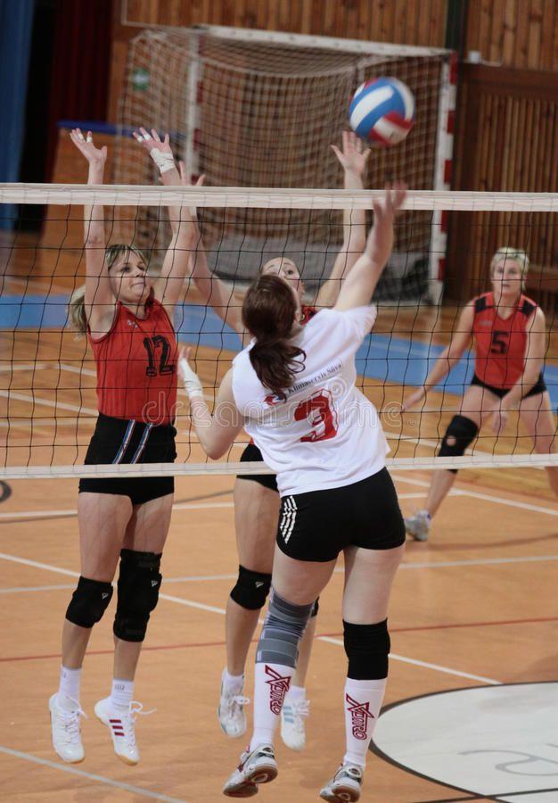 Volleyball Match December 12 Zdar Nad Sazavou Czech Republic Volleyball Mat Sponsored Zdar Nad Volleyball Match Volleyball Match Photography
