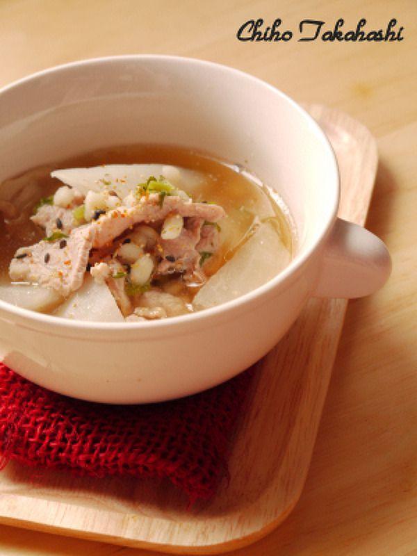 丸麦と大根のあっさり和風スープ by 高箸 ちほ | レシピサイト「Nadia | ナディア」プロの料理を無料で検索