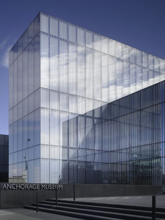 The Anchorage Museum at Rasmuson Center  David Chipperfield Architects' new 8,000 m2 Anchorage Museum Expansion will open to the public on 30 May 2009. The organisation of the new building is bas…