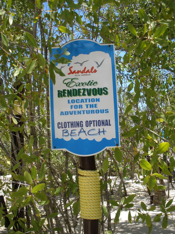 Best clothing optional beaches caribbean