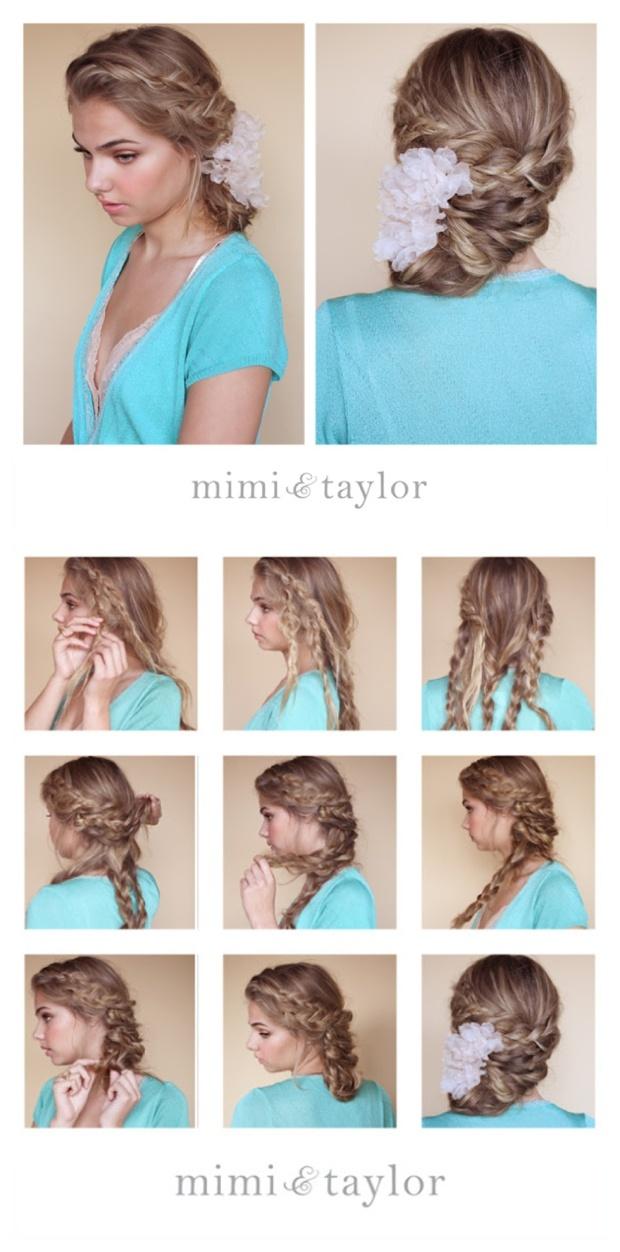 Modern side bun bridal hair style by Mimi & Taylor Bride and Chic | Modern Wedding Ideas By Leading UK Wedding Blog