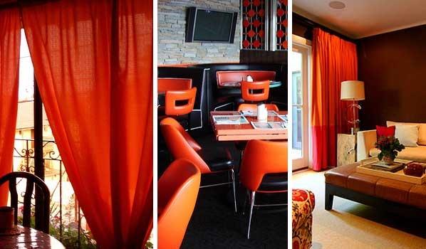 I'm getting Dark Orange Curtains :)   home decor ideas ...