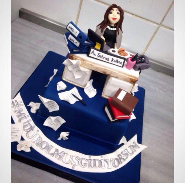 #law #lawyer #office #desk #birthday #cake
