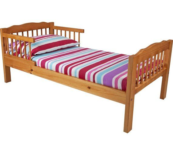 Buy HOME Antique Pine Toddler Bed Frame - Natural at Argos.co.uk - Your Online Shop for Children's beds, Children's furniture, Home and garden.