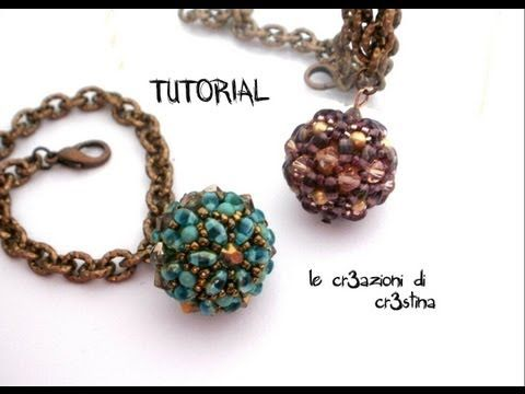 ▶ How to Make a Beaded Bead Using Twin Beads - YouTube