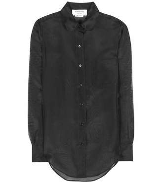 Thom Browne Silk shirt - Shop for women's Shirt - Black Shirt