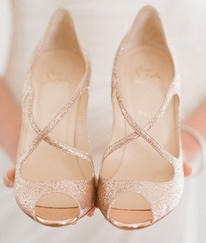 glitter strappy heels prom shoes