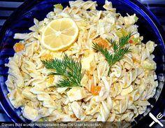 Geflügel - Nudelsalat mit Mandarinen | Chefkoch.de 200 g Nudeln (Schleifennudeln) 1 Prise(n) Salz, kräftige 1 EL Öl 300 g Hähnchenfilet(s) Pfeffer 20 g Butterschmalz 1 Stange/n Lauch 1 Dose/n Mandarine(n) - Orangen (315 ml) 200 g Käse (Gouda), jung 3 EL Mayonnaise 150 g Joghurt (Magermilch-Joghurt) 1 TL Curry