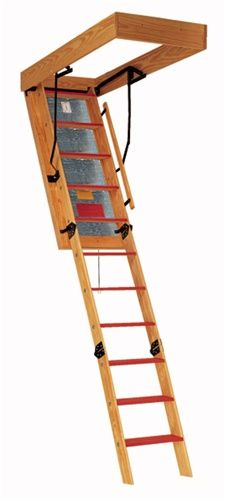Best Bessler Space Saver Folding Wooden Attic Stair 25 1 2 W 400 x 300