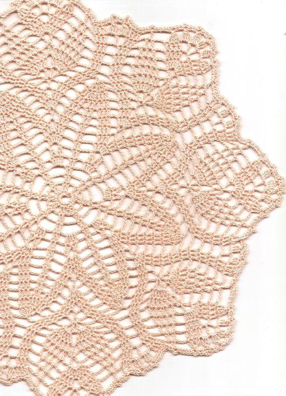 Crochet doily lace doily table decoration crocheted by DoilyWorld, £6.00