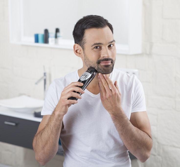 Look perfeito para uma barba de 3 dias com o Air Force Precision