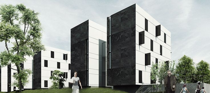 marvipol multifamily houseing, warsaw.