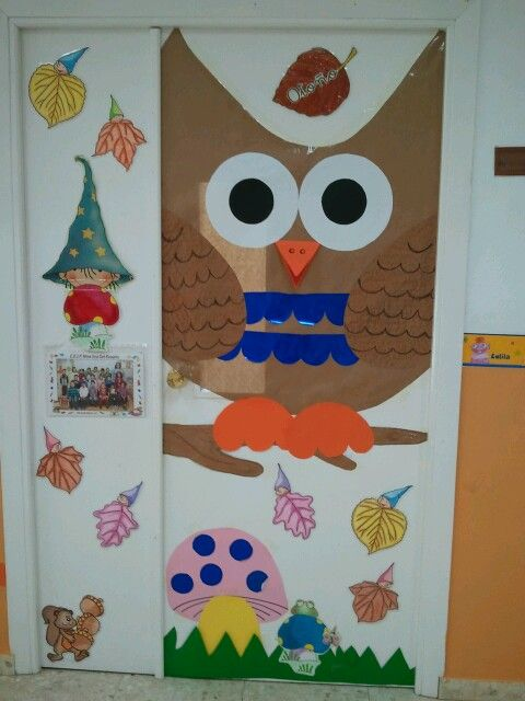 Decoraci n puerta oto o puertas para el aula pinterest for Decoracion puerta aula infantil