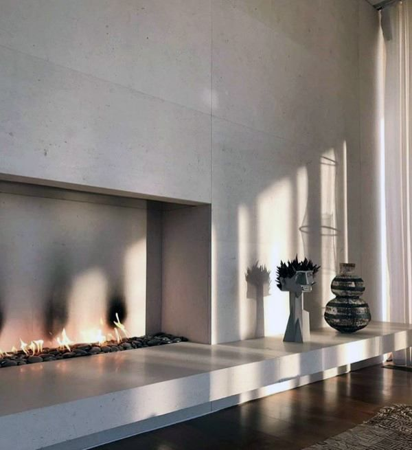 Image Result For Simple Modern Fireplace Modern Fireplace