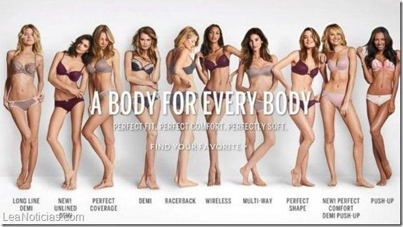 """Victoria's Secret rectifica y cambia sus """"cuerpos perfectos"""" - http://www.leanoticias.com/2014/11/26/victorias-secret-rectifica-y-cambia-sus-cuerpos-perfectos/"""