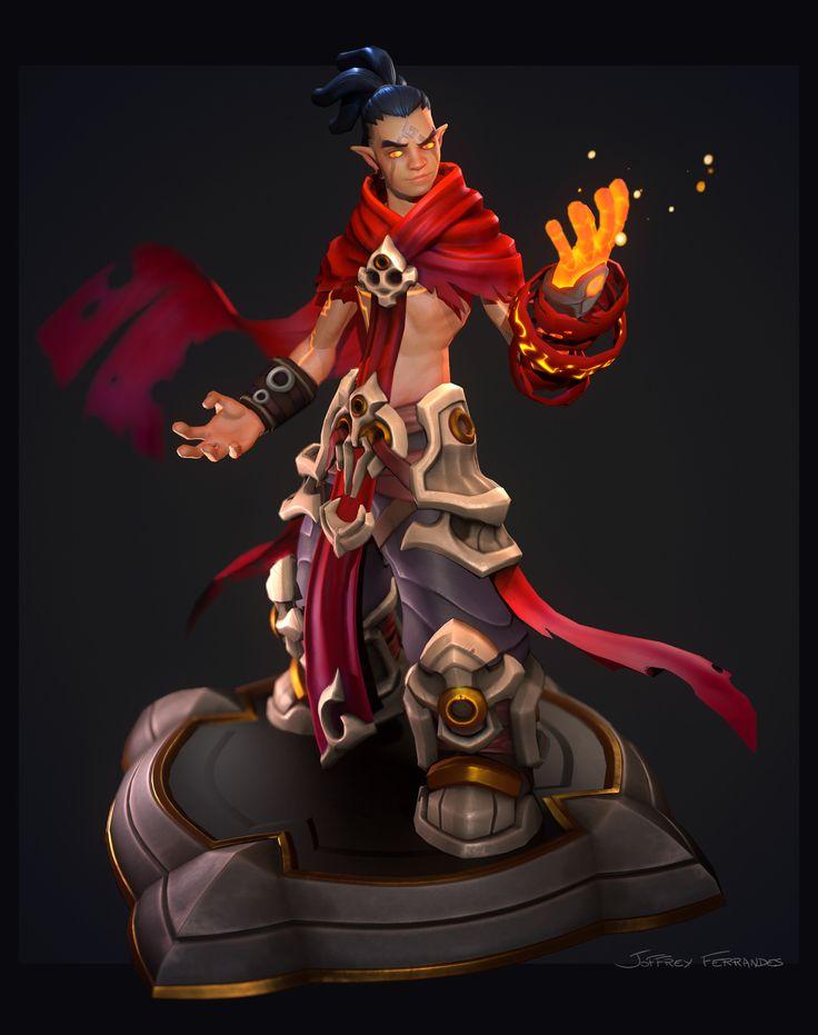 ArtStation - Fireboy , Joffrey Ferrandes