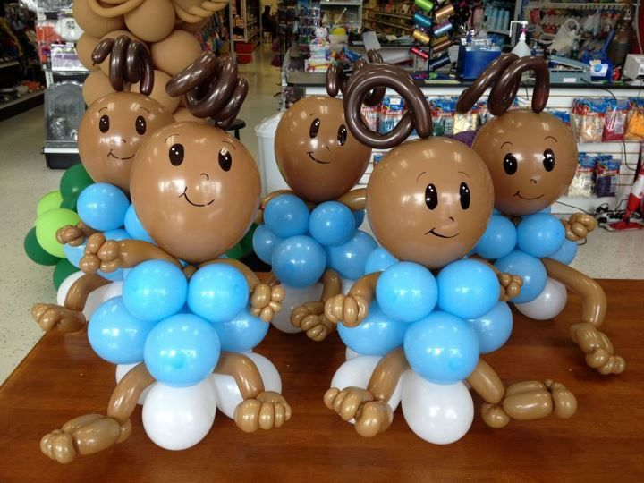 Baby Shower Balloon Babies