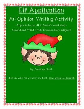 **UPDATED December 2014** Are you looking for a fun holiday writing activity that gets your students engaged AND still meets standards? This 11 page document is aligned to the CCSS for second and third grade, but could easily be adapted for 1st or 4th and 5th grade as well.
