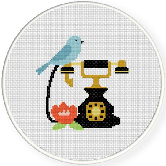FREE for June 29th 2015 Only - Antique Charm Cross Stitch Pattern