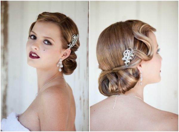 Vintage Bride: 1940's Beauty and Fashion | The Bride's Tree - Sunshine Coast Wedding