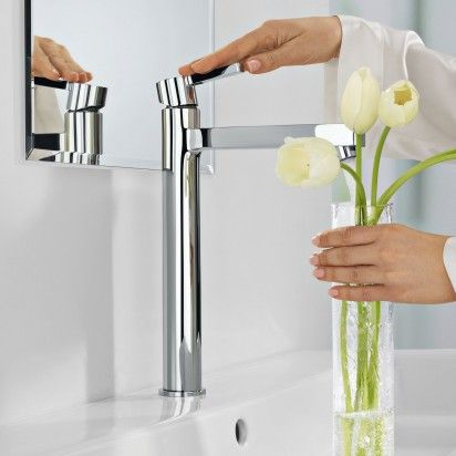 Extended Height Basin Mixers
