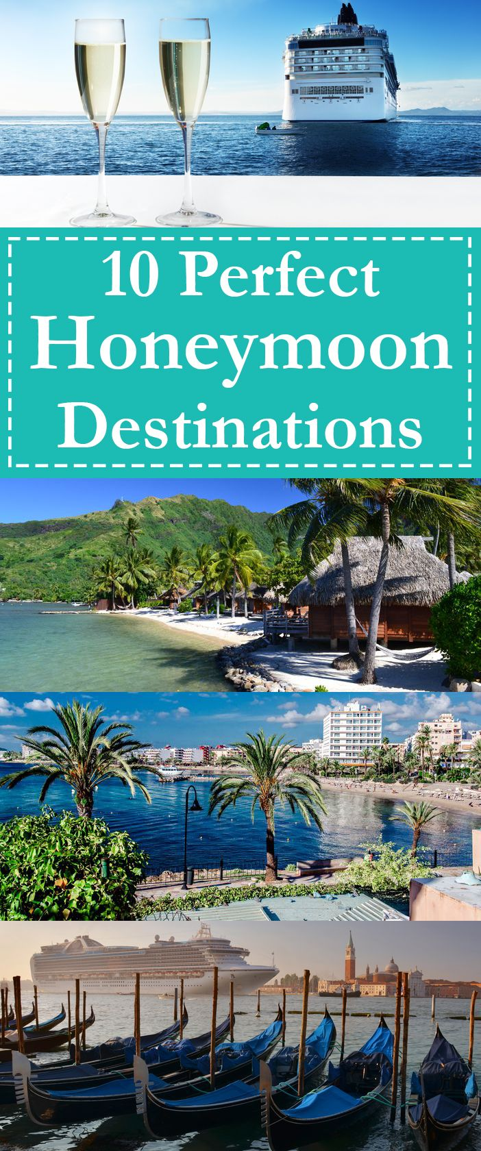 After going through the most important day of your life, it is only fitting that you search for the best honeymoon destination in the world. With this in mind, here are 10 of the most perfect honeymoon destinations around the world.