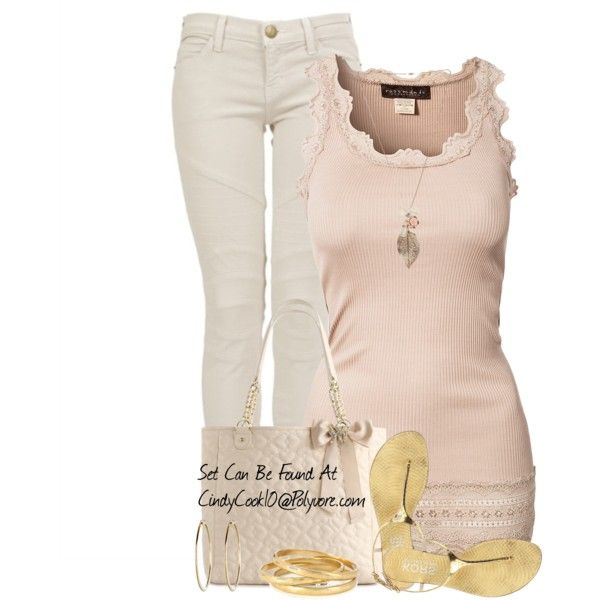 """""""Pink & Gold"""" by cindycook10 on Polyvore"""