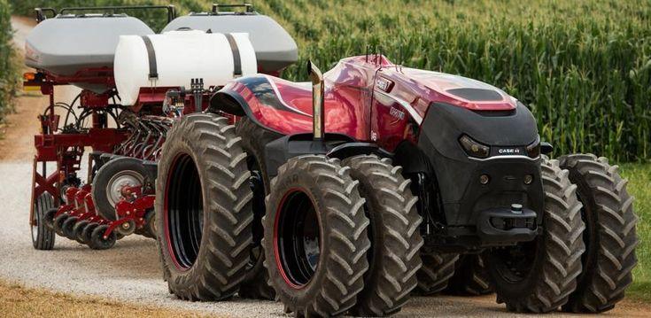 Robotisation : Case IH présente son tracteur sans chauffeur