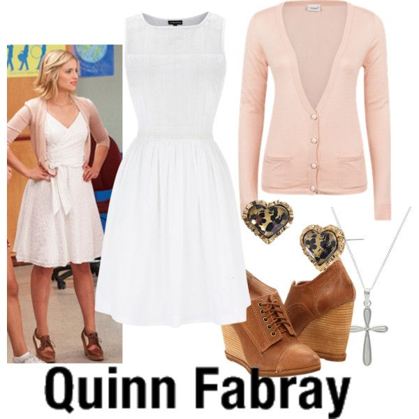 """Quinn Fabray--- I Kissed a Girl"" by fandom-wardrobes on Polyvore"