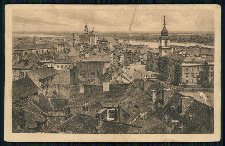 Pocztówka: Warszawa, Stare Miasto (post 1927)