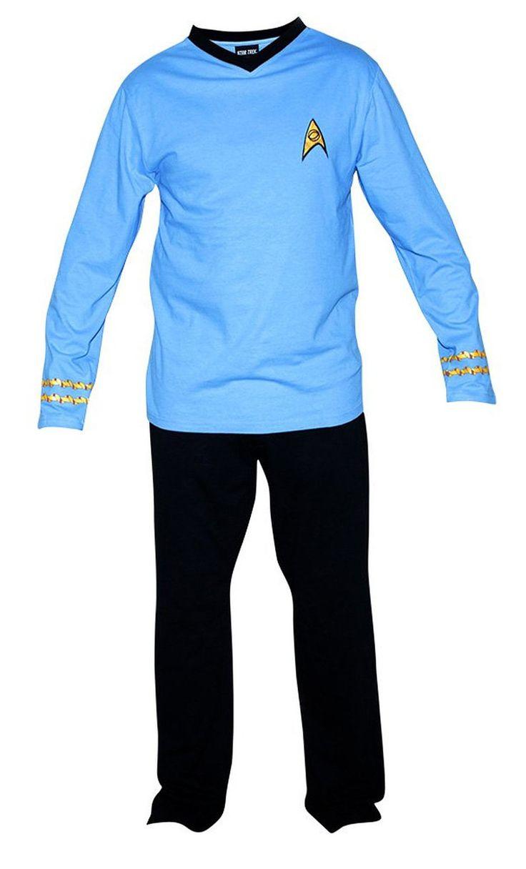 218 best star trek clothes images on pinterest star trek geek star trek adult spock officer uniform blue pajama set buycottarizona