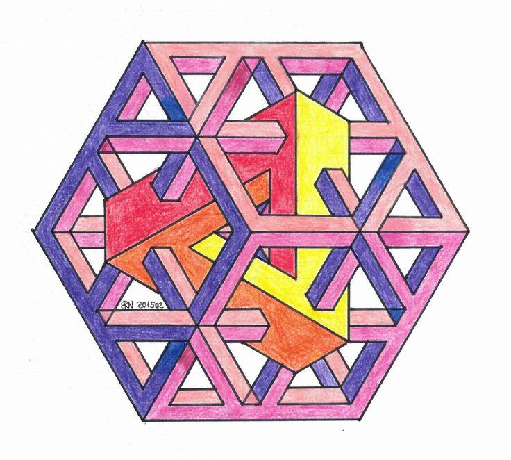 Mejores 98 im genes de figuras imposibles en pinterest - Figuras geometricas imposibles ...
