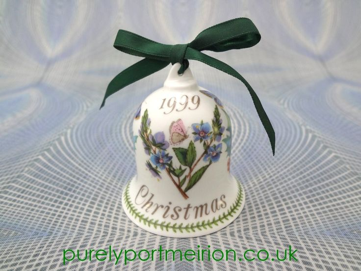 Portmeirion China Christmas Bell 1999