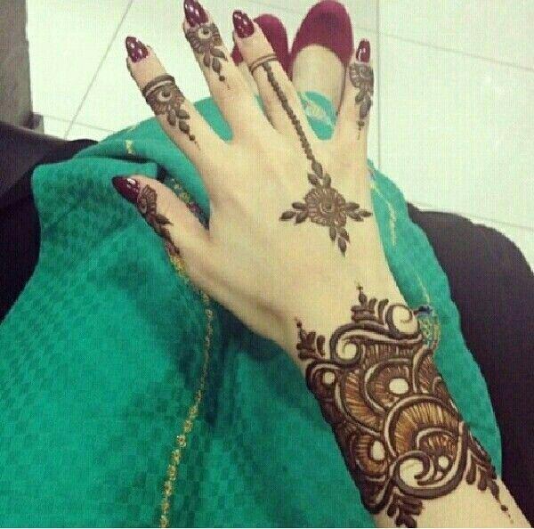 100 Latest Bracelet Tattoo Designs For Ladies: Pin By Nickii Rajkumar On Henna Designs