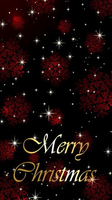 Download 360x640 «Merry Christmas» Cell Phone Wallpaper. Category: Holidays