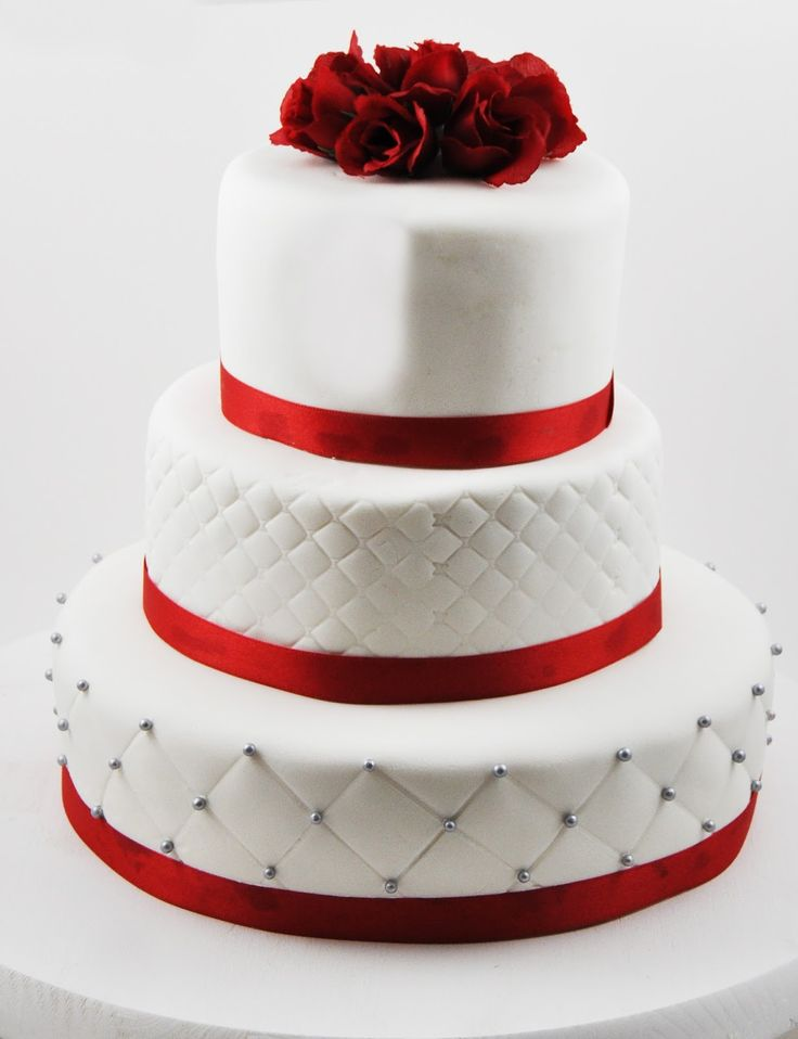 wedding cake red grey and white wedding search future 23659