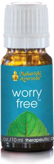 Worry Free Aroma Oil. Aromatherapy blend from vpk, by Maharishi Ayurveda.