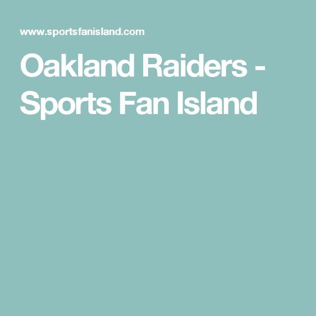 Oakland Raiders - Sports Fan Island